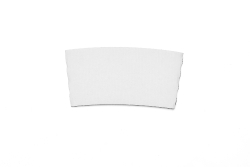 White Hot Drink Sleeve(fits 12,16,20 oz. Cups-No Printing)